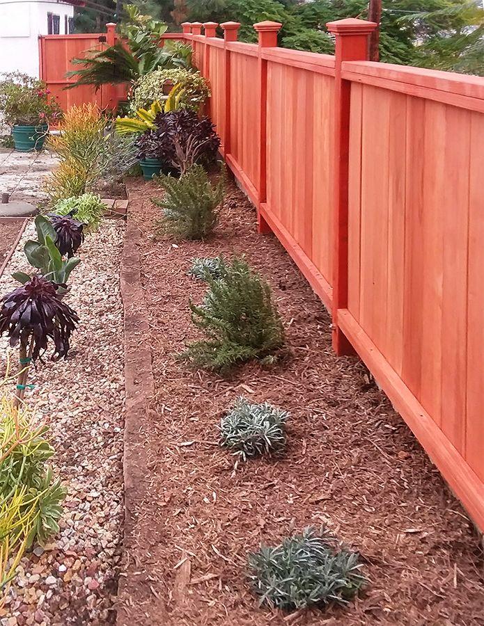 Fences Tips Types Backyard Landscaping Landscaping Along