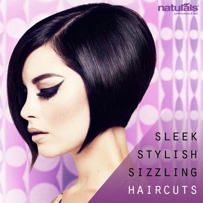 Asymmetrical Bob Hairstyle  Naturals is India's no.1 Unisex Salon and Spa FB page:https://www.facebook.com/NaturalsSalon  #hair, #asymettrical, #bob, #hairstyle, #beauty, #fashion, #style, #naturals, #digitallyinspired #media #advertising #creative #makeup