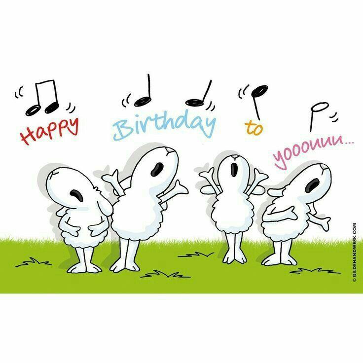 Прикольные картинки к дню рождения на английском