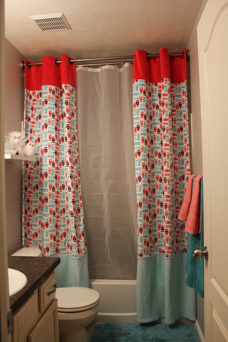 Split And Tall Shower Curtain Kids Shower Curtain Tall Shower