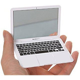 JOINNEW@ Mini Macbook Air Style Portable Mirror Apple Notebook Creative Make up Mirror