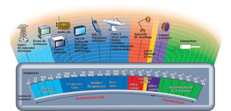 Spectre des fréquences