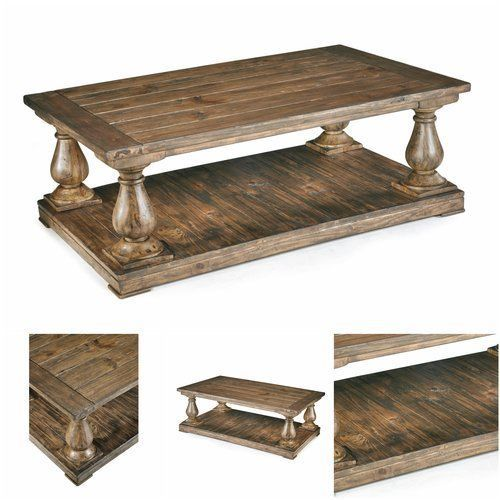 Unique-Coffee-Table-Rustic-Distressed-Wood-Furniture-Decor-Design-Accent-Pine