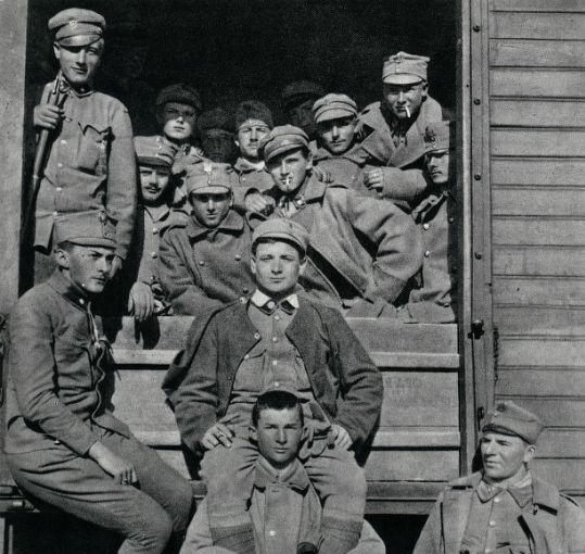 Transport II Brygady LP z Bukowiny na Wołyń, 1915 - Kalendarium Legionów Polskich 1914–1918 – Wikipedia, wolna encyklopedia