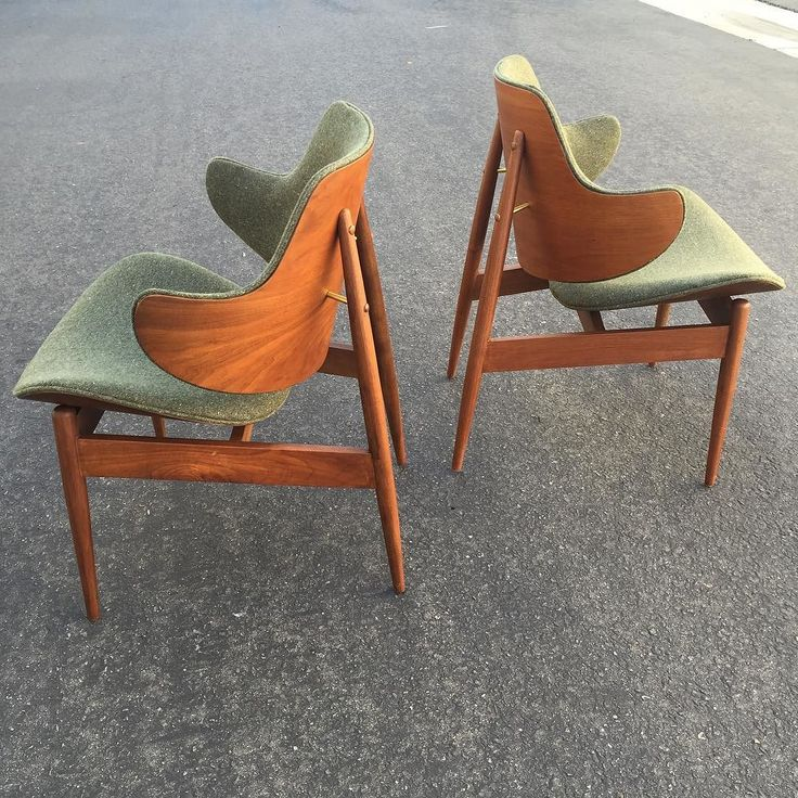 Amazing U201cBreathtaking Pair Of Clamshell Lounge Chairs In Walnut And Bent Plywood  Designed By Seymour J Awesome Design