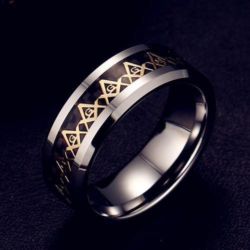 Freemasons Ring Masonic
