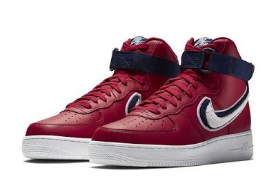 """13b934a31a490e KIX   LIDZ  Nike Air Force 1 High 07 LV8 """"3D Swoosh""""...Nike s Air Force 1  LV8 series is ready for a new drop. The release is stepping on a White sole  with ..."""