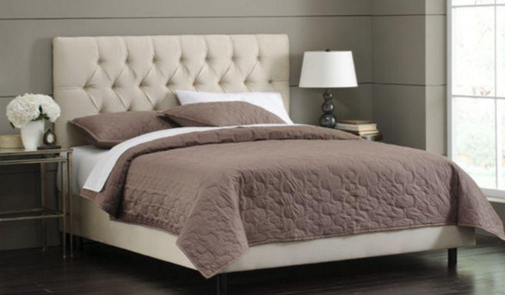 Skyline Furniture Premier Upholstered Panel Bed