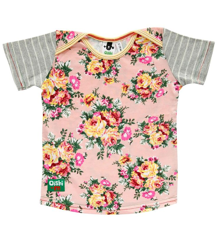 Florence Shortsleeve T Shirt, Oishi-m Clothing for kids, Spring 2015, www.oishi-m.com
