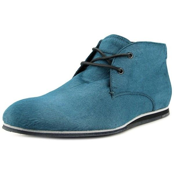 Tod's Tod's Desert Boot Sportivo Nx Round Toe Suede Boot (303,915 KRW) ❤ liked on Polyvore featuring men's fashion, men's shoes, men's boots, blue, shoes, mens flat shoes, mens blue boots, mens suede boots, mens blue suede boots and mens blue suede shoes