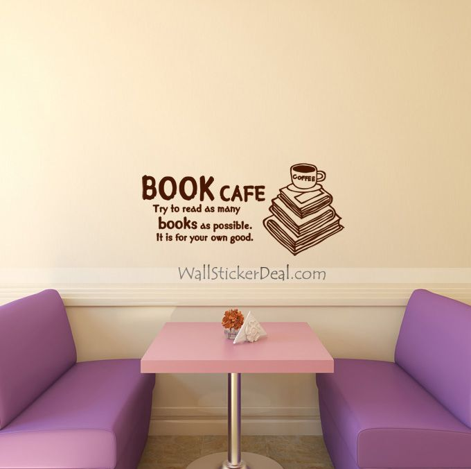 Best Wall Quotes Wall Sticker Images On Pinterest Wall - Custom vinyl wall decals coffee