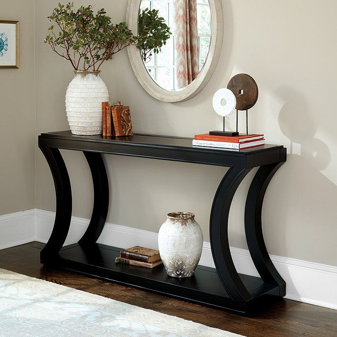 Eleanor Console Table Entryway Console Table Foyer Decorating