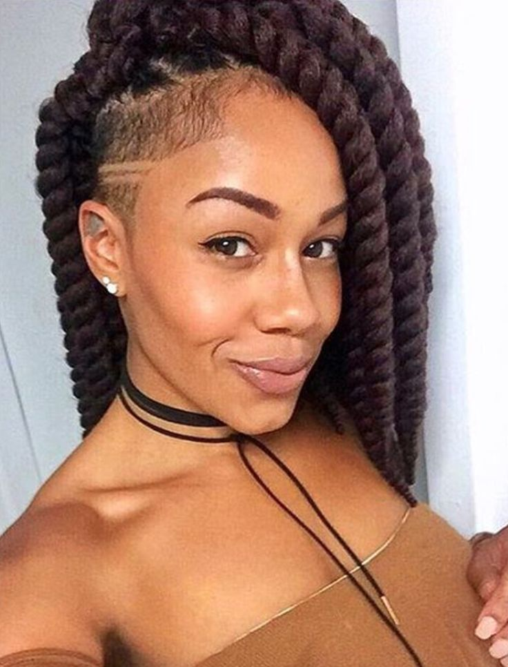 Braided Hairstyles With One Side Shaved | Hair