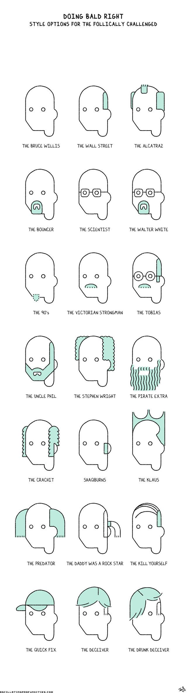 1 | See At Least 18 Different, Pop-Culture-Inspired Ways To Be Bald | Co.Create | creativity + culture + commerce