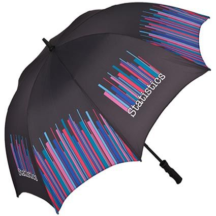 Promotional Sheffield Sports Umbrellas are manufactured with high quality polyester (fibreglass for the rib and pole) and boast a massive pr...