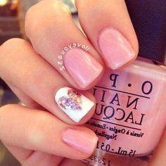 23 Nail Designs That Say Summers Here #nails #designs #ideas #2017 #summer #pretty #beach #simple
