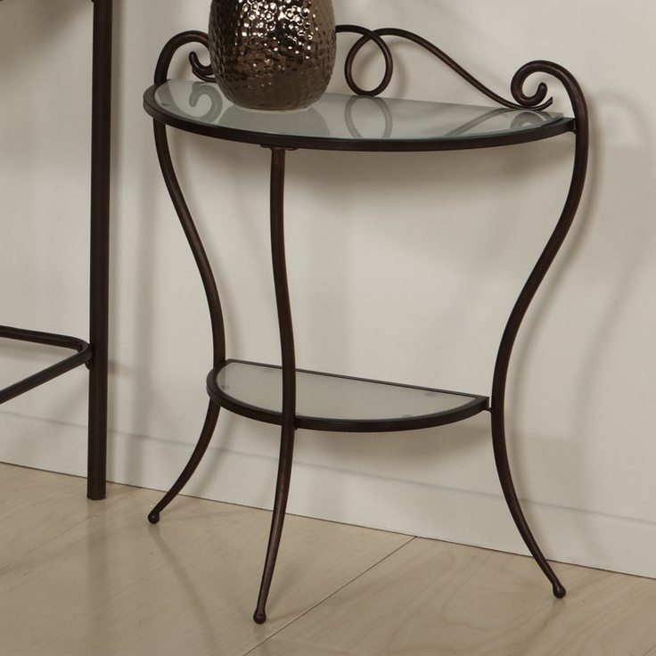 Chintaly Imports 511-NS Metal Nightstand