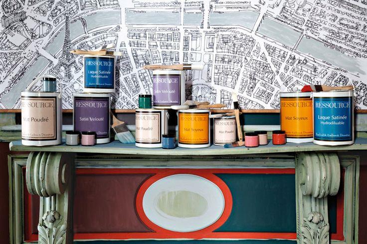 """Хроматека - галерея всех цветов. Французские дизайнерские краски для интерьеров """"Ressource"""" - это профессиональное качество премиум-класса. Неисчерпаемый ресурс для Вашего вдохновения - богатейшая палитра живых и сочных цветов разных стилей, в том числе правдивые исторические цвета и палитры, разработанные ведущими специалистами отрасли. Краски адаптируются ко всем видам поверхностей, сохраняя целостность оригинальных оттенков, производятся на юге Франции – в городе Авиньон."""