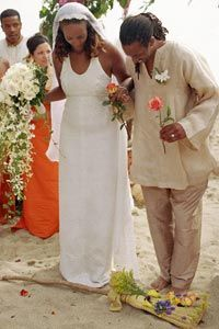 "HowStuffWorks ""How the Jumping the Broom Ceremony Works"""