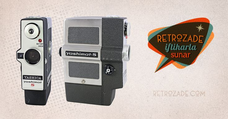 Yashica Yashimat S 8mm Film Kamerası