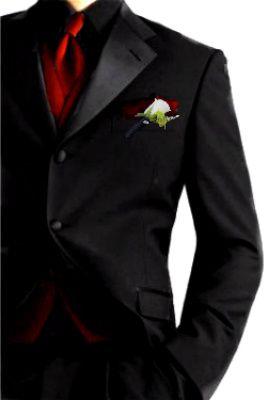 Best 25  Black suit red tie ideas on Pinterest | Red ties, Black ...