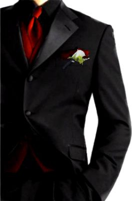 The 25  best Black Suit Red Tie ideas on Pinterest | Black and red ...