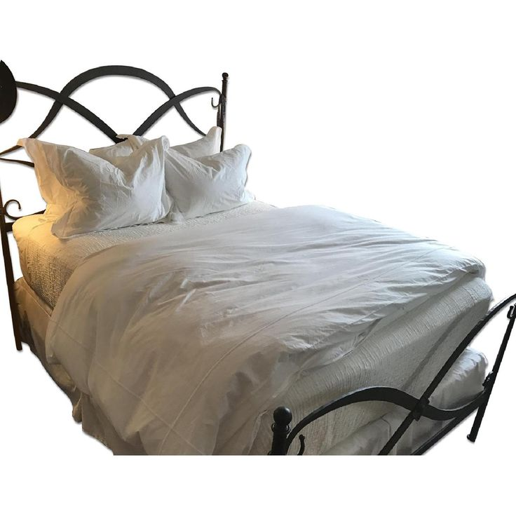 Arhaus St Lucia Queen Iron Bed Frame