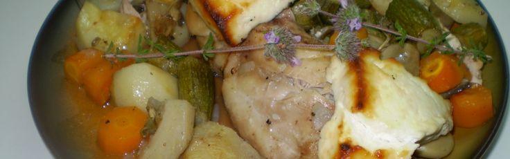 Κουνέλι με ανθότυρο και λαχανικά  http://kouneli.gr/?cat=46