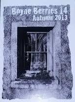 Poem in Boyne Berries 14 Autumn 2013 Edition