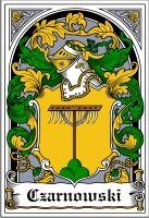 Czarnowski Coat of Arms / polish family crest #heraldry #genealogy #family reunion #family #shield #clan #Poland #polska #code of arms