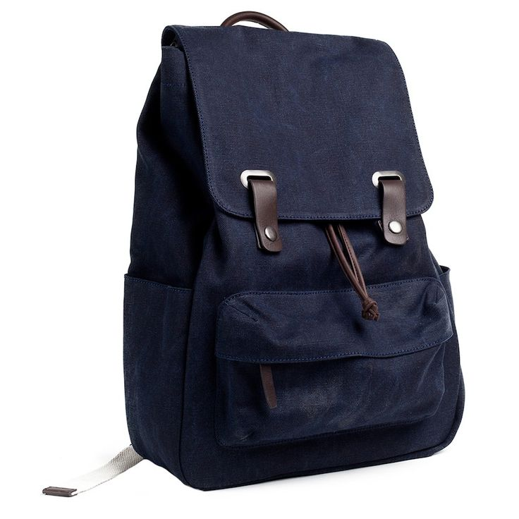 The Snap Backpack Navy – Everlane