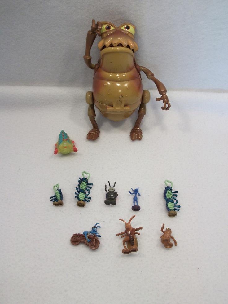 large lot of disney a bugs life polly pocket playset toys flik hopper figures b