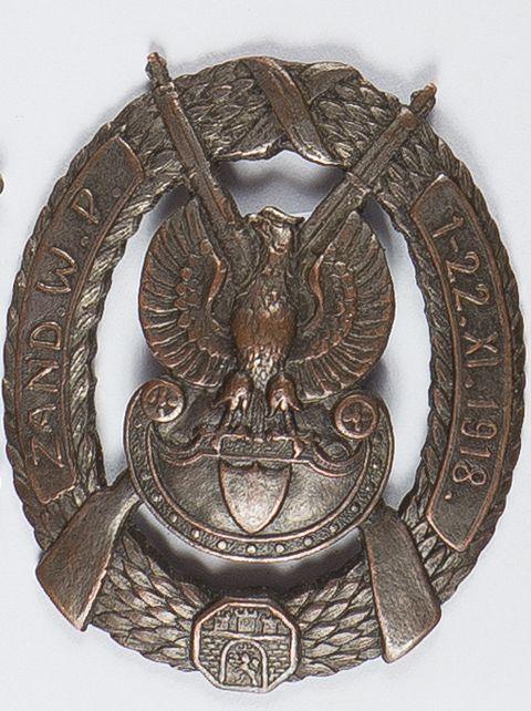 Odznaka Żandarmerii W.P. 1-22.XI.1918