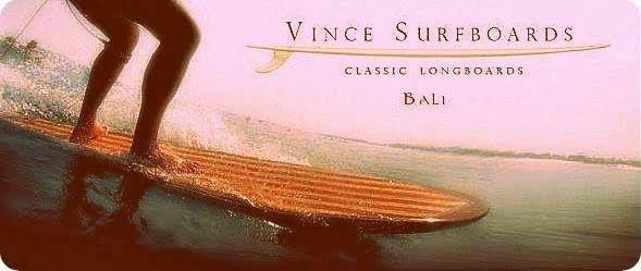 Bali Surf Travels: Vince Surfboard - made in Bali