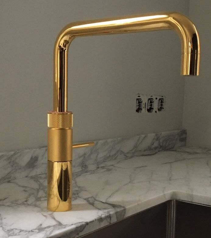 Gold quooker, next level tap