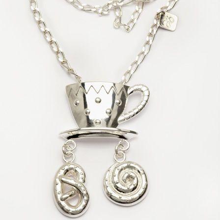 Silver halsband design Anna Örnberg