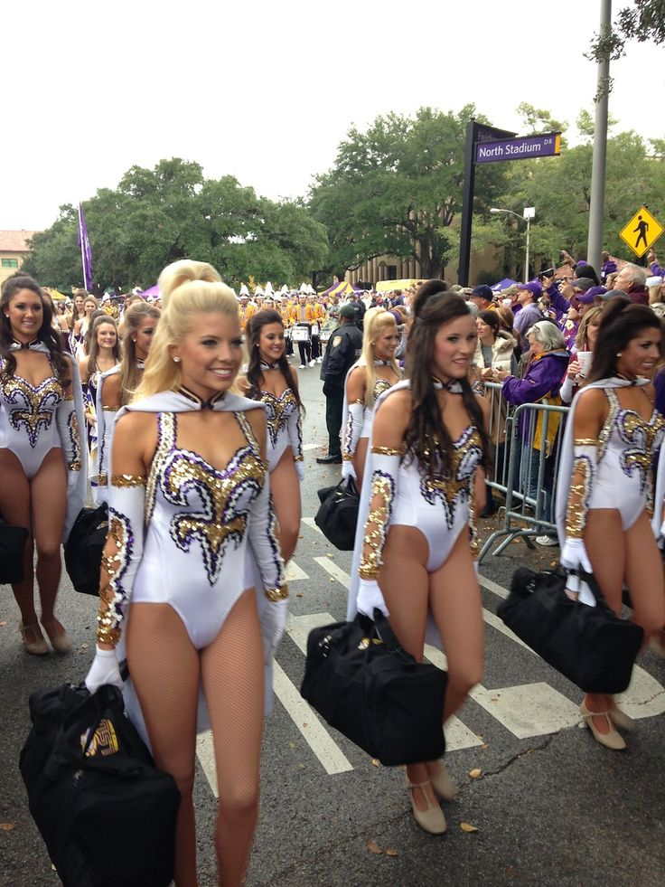 Lsu Golden Girls  Dance Team Things  Lsu Tigers -4595