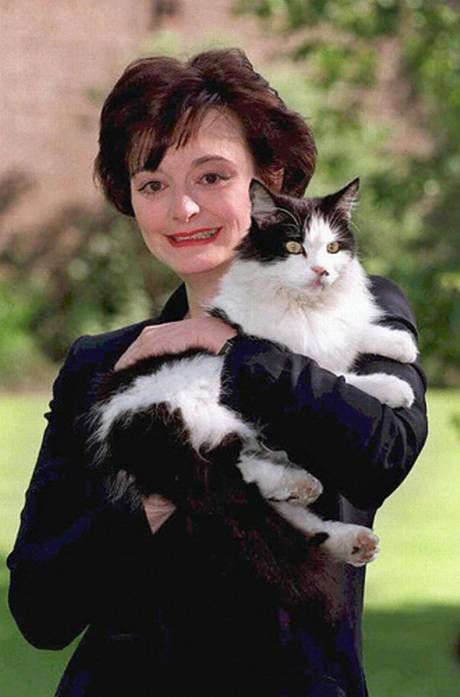Front-page stories accused Cherie Blair of taking a dislike to Humphrey the cat (Getty Images)