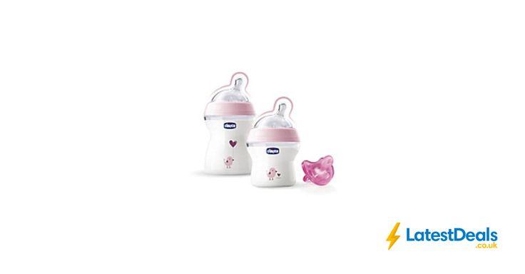 Chicco Natual Feeling Bottle Range Duo Pink Save £4 Free C+C, £11 at ASDA