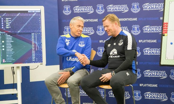 Everton boss Koeman loses virtual game to Football Manager creator