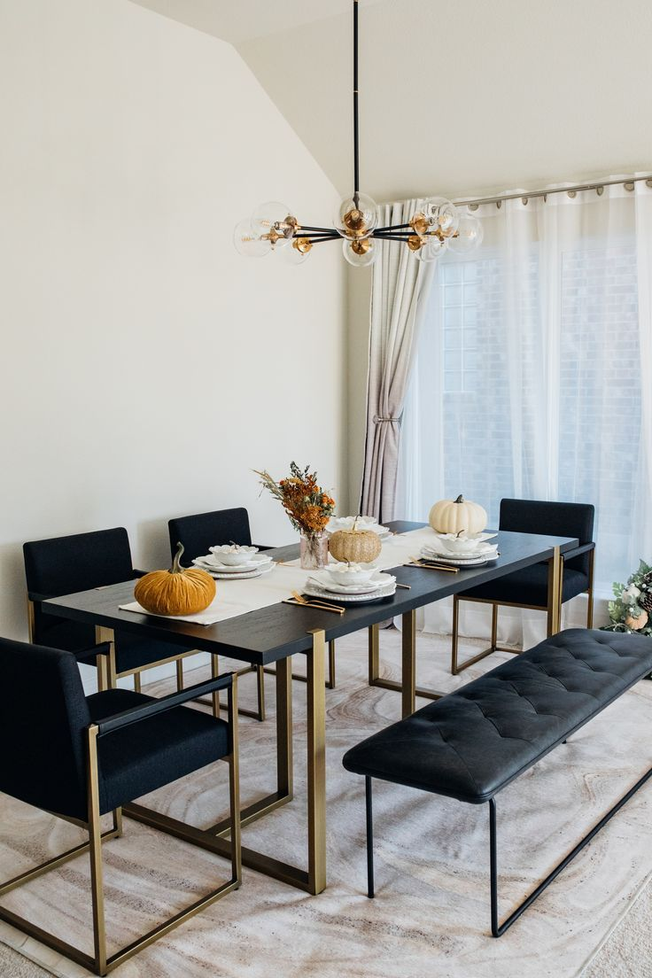 A Stunning Sturdy Dining Table You Ll Love For Years Color Chic Modern Dining Room Tables Dining Room Design Modern Minimalist Dining Room