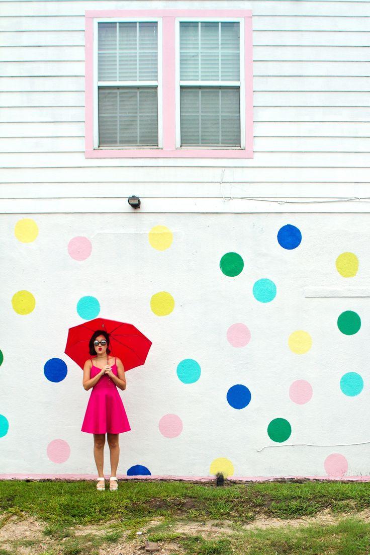 The Polka Dot Wall by Shelbi Nicole 6521 N Main St