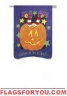 last 1 - applique Come In For A Spell Garden Flag