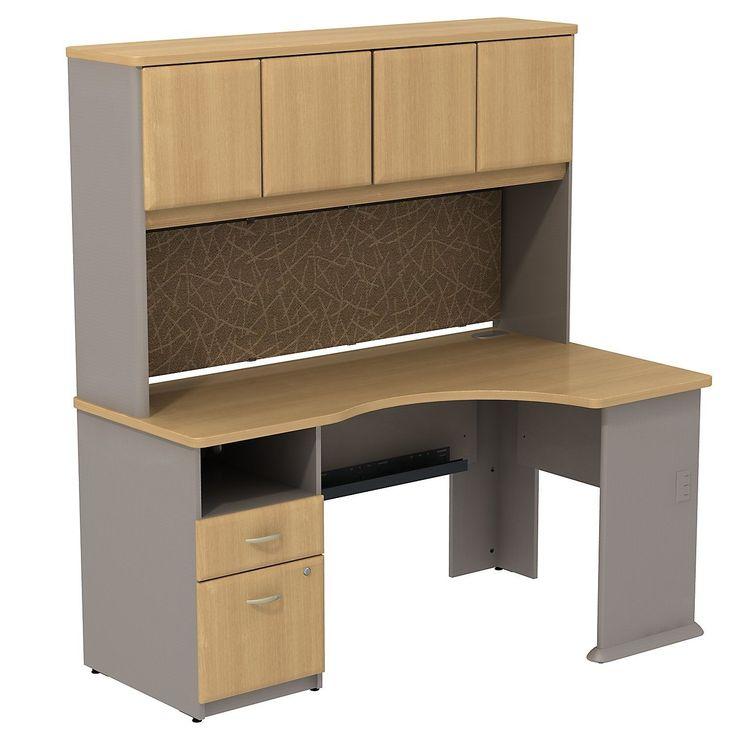 best 25 corner desk with hutch ideas on pinterest. Black Bedroom Furniture Sets. Home Design Ideas