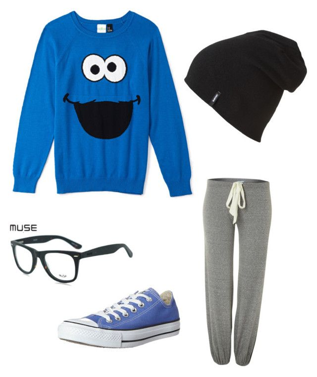 Quirky comfort by abby-mercier on Polyvore featuring polyvore, fashion, style, Forever 21, Eberjey, Converse, Burton and GlassesUSA