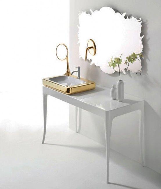 CNC Cut Mirrored Acrylic For Bathroom Wall Mirror.