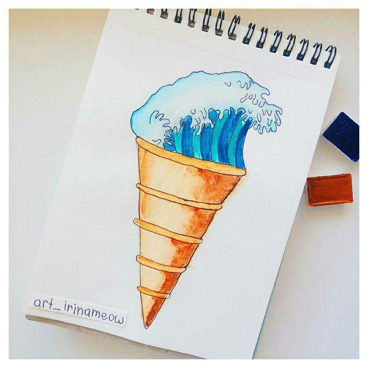 """Мороженое """" волна очарования"""""""