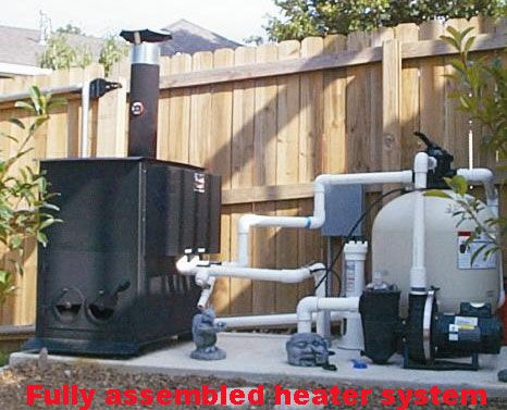 Extenda Swim Wood Fired Swimming Pool Heater Poor Mans