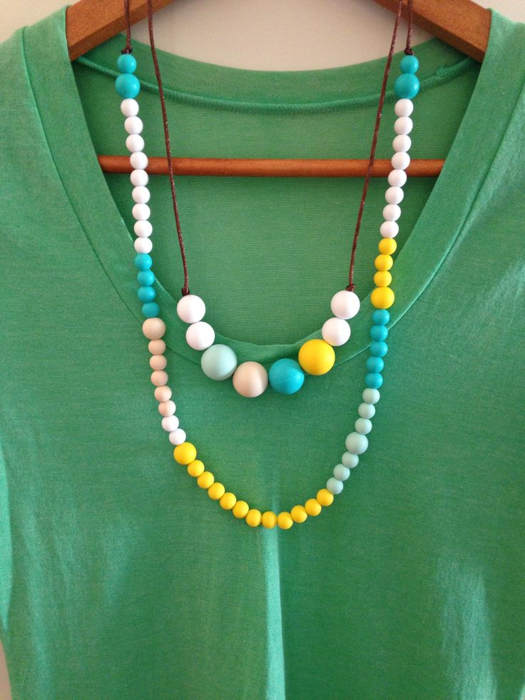 Silicone Necklaces. Designed specifically for mums with babies that love to pull & chew on their jewelry.  Made from food grade silicone, without all of the nasties. Easy to clean, easy to wear & almost impossible to break! You do not need to have a baby to wear these babies!