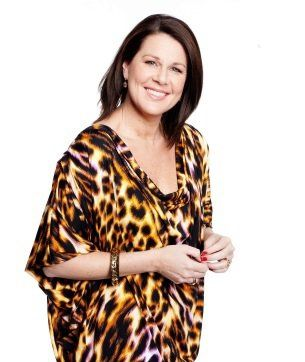 Julia Morris had a miscarriage in the middle of a flight. And somehow, she still manages to make us laugh.